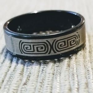 Other - NEW Stainless Steel Celtic Band Ring Size 10.5